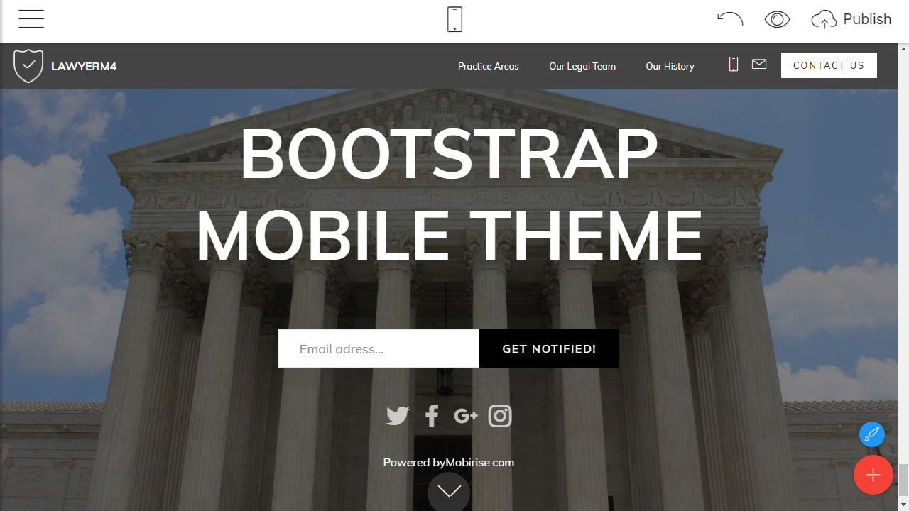 Bootstrap Site Theme